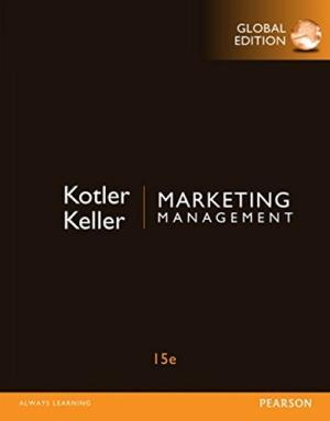 Marketing Management by Philip Kotler th 15