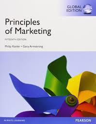 Principles of Marketing 15th edition