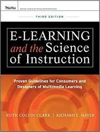 E-learning and the science of instruction 电子学习和教学科学第三版