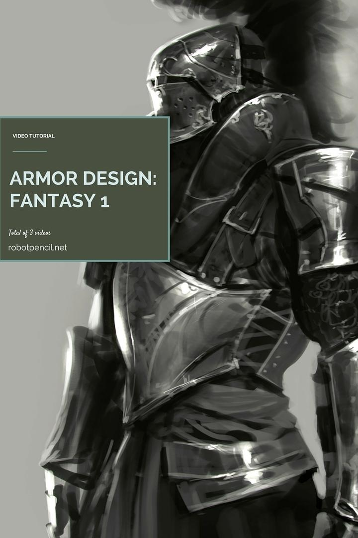 Gumroad – Armor Design Fantasy 1by Anthony Jones
