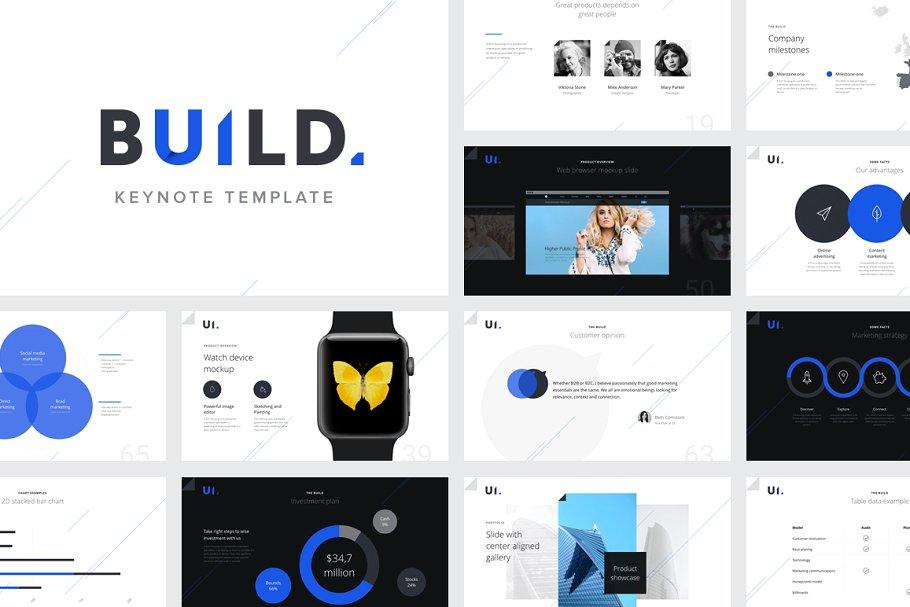 BUILD Keynote Presentation Template