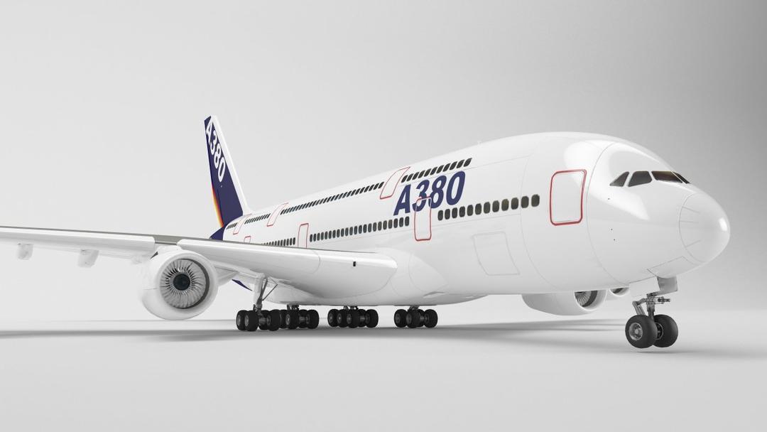 空客A380飞机 模型 Airbus A380
