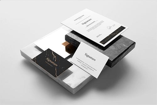 企业VI办工运用品牌样机Signature Branding Mockup Vol. 2