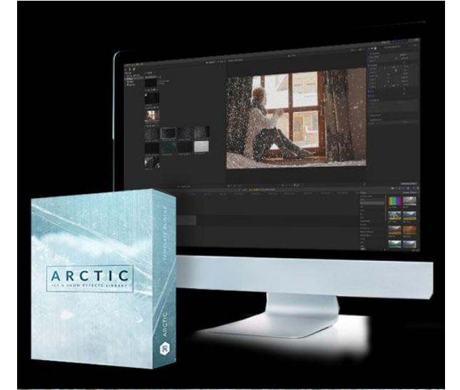 雪花视频特效RocketStock Arctic 79 High Quality Snow, Ice and Frost Video Effects