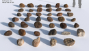 267种光照CG岩石模型合集BlenderGuru: The Rock Essentials -缩略图
