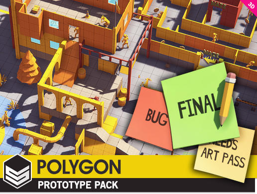 POLYGON - Prototype Pack Unity asset