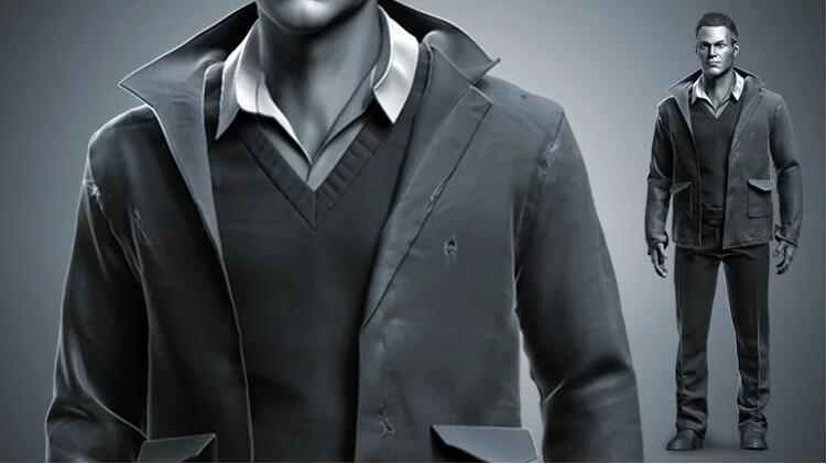 Realistic Clothing Workflow for AAA Game Male Characters 3A游戏男性角色的现实服装工作流程