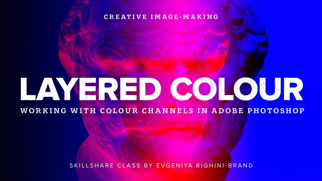 Creative Image-Making: Layered Colour Effect Using Channels in Photoshop