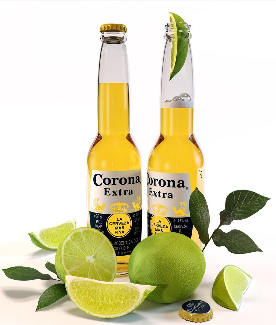 啤酒模型Corona Extra beer