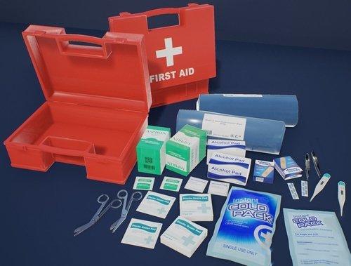 急救医疗包模型+PBR  First Aid Kit 1 Plus 1 PBR Pack Low-poly 3D model