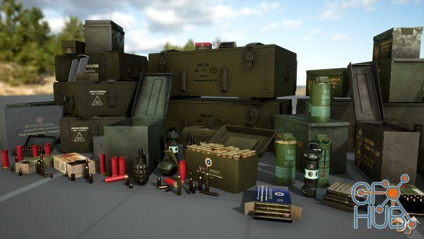 Unreal Engine Marketplace – Asset Bundle 1 May 2019