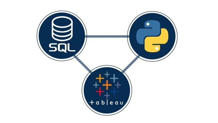 Python + SQL + Tableau Integrating Python SQL and Tableau