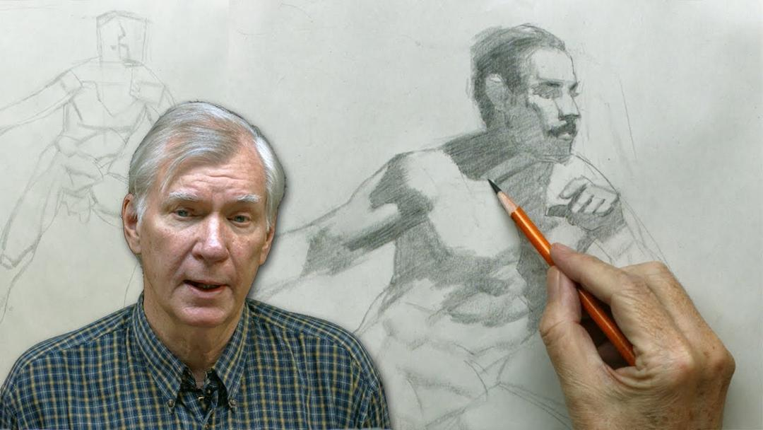 大师级素描绘画高级教程1-10 MA Mark Westermoe Reilly Method Figure Drawing