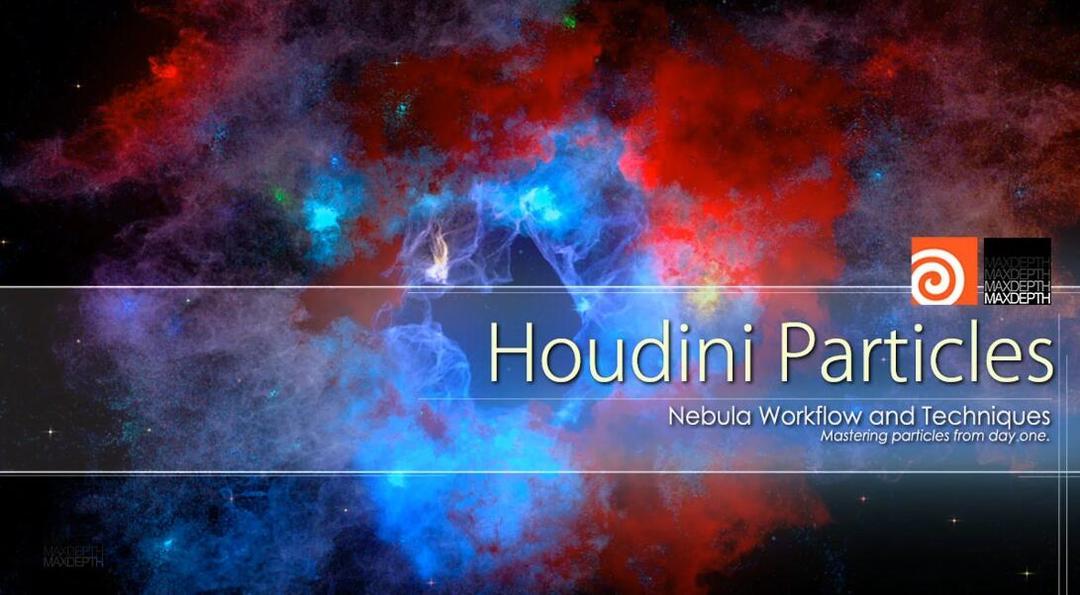 Houdini粒子星云课程Houdini Particles: Nebula
