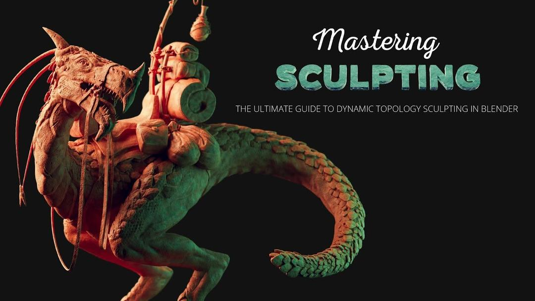 Mastering Sculpting in Blender