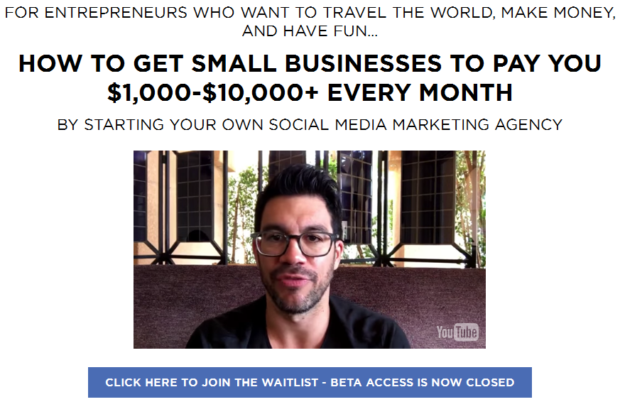 Tai Lopez Social - Media Marketing Agency Expert Training 2016