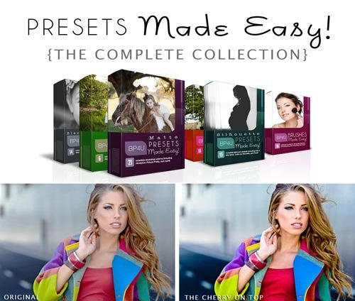 Photographer Resources - Presets Made Easy Collection 摄影师资源 - 预设轻松收集