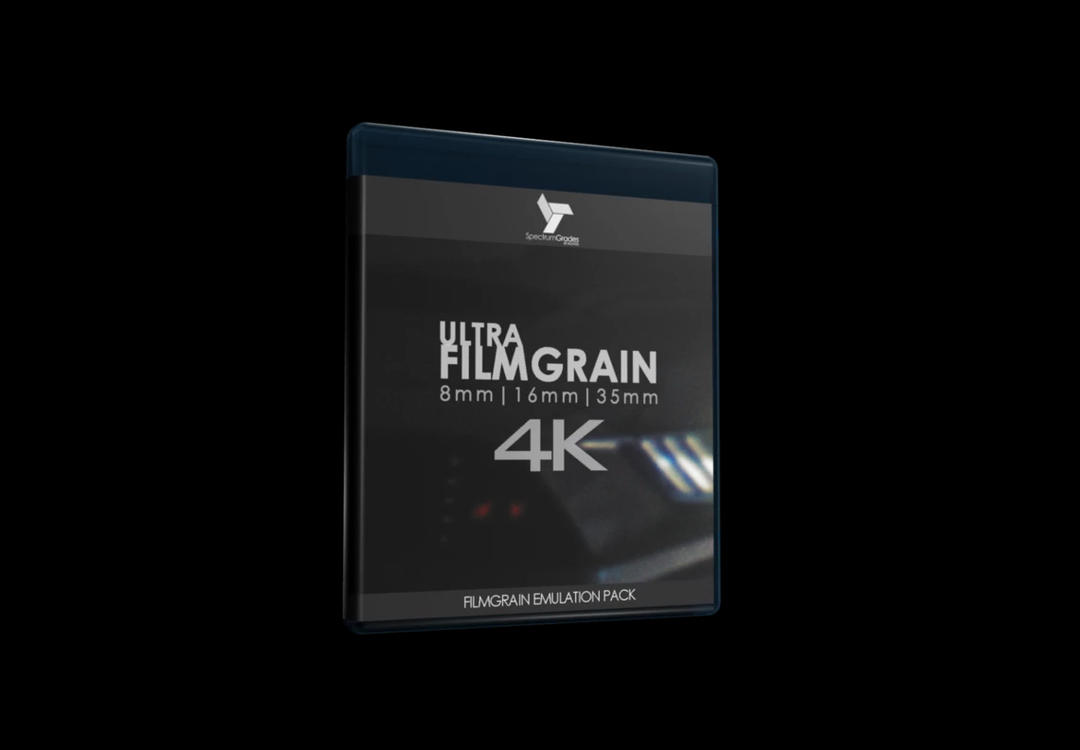 Spectrum Grades - ULTRA-FILMGRAIN 4K PROFESSIONAL ORGANIC ANALOGUE FILM LOOK 8MM