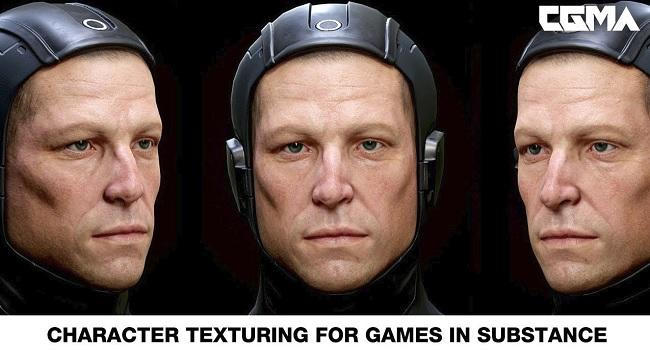 CGMA – Character Texturing for Games in Substance游戏贴图课程