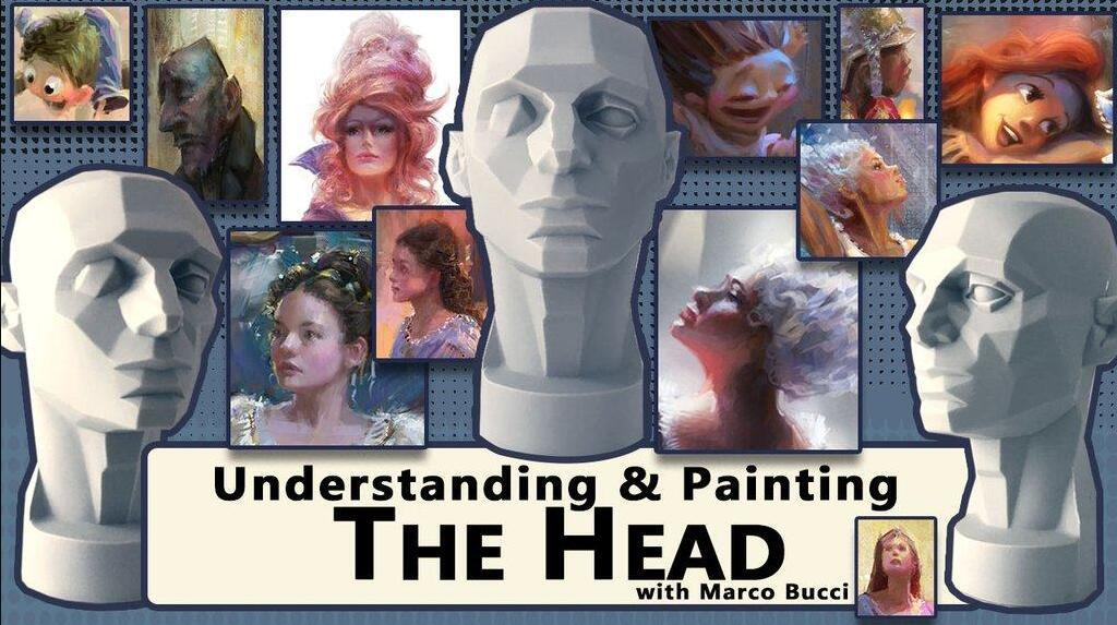 Understanding and Painting the Head