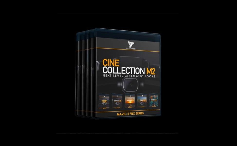 Spectrum Grades LUTS预设合集 CINE COLLECTION M2+DJI MAVIC 2 PRO LUTS+GAMMA M2