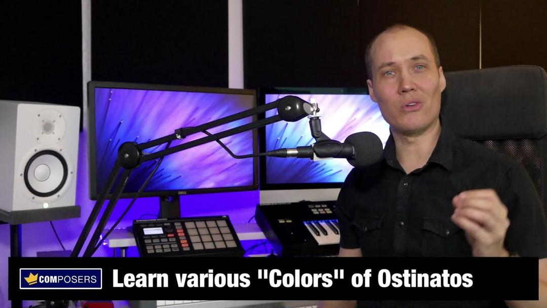 Music Composition - Create Powerful Rhythmic Ostinatos