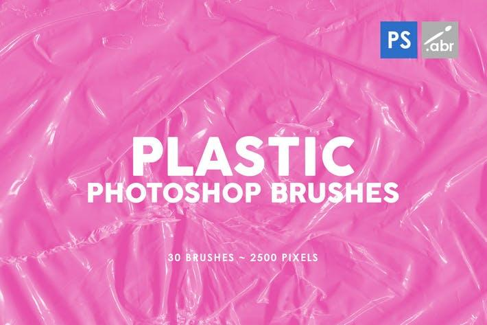 Plastic Photoshop Brushes 03 塑料ps笔刷