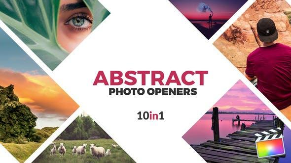 Abstract Photo Openers - Logo Reveal