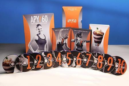 APY60 - 60 Day Power Yoga Home Fitness Workout