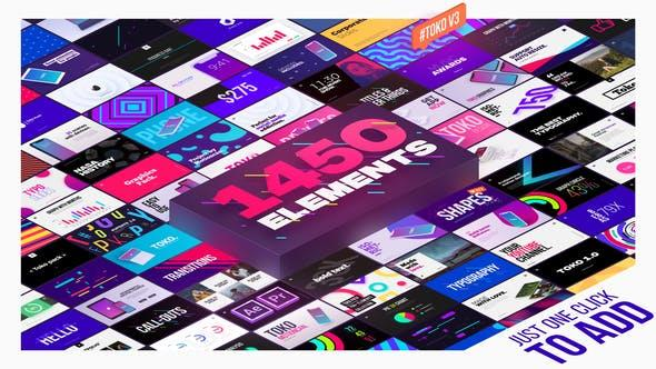 Videohive Graphics Pack V3.0 22601944