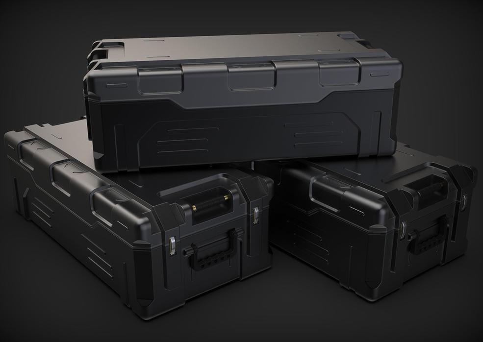 C4D硬表面建模科幻箱子教程 Hard surface Sci-fi Crate Cinema 4D modeling,视频教程,C4D之家