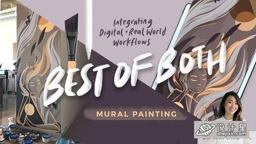 Best of Both WorldsCombining Digital Tools Procreatewith Real World DesignMurals