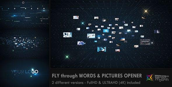 Fly through Words Images Opener