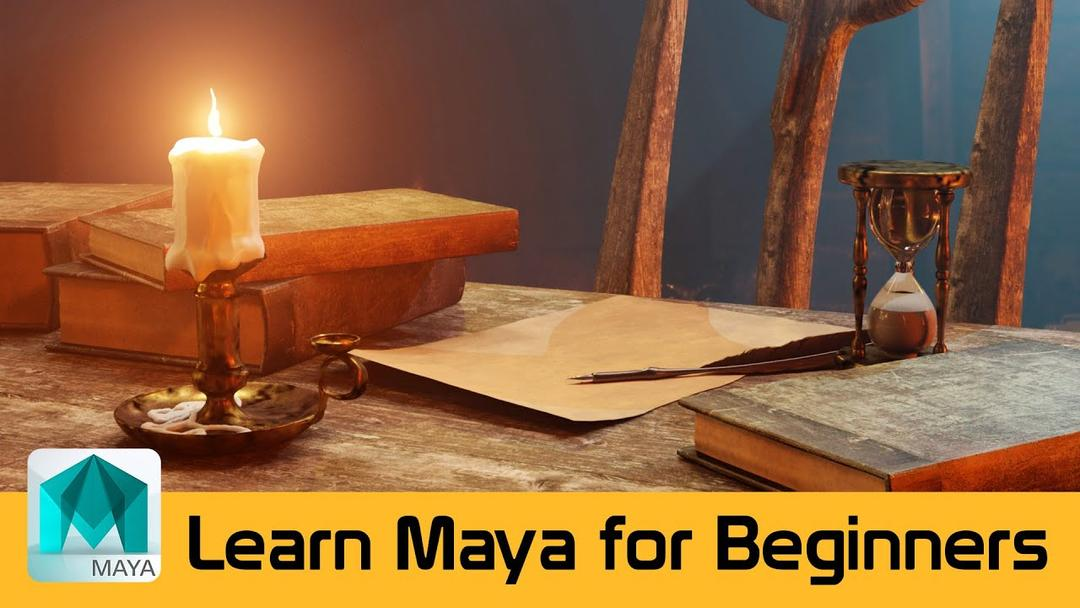 Udemy - Learn Maya - A Beginners guide to Creating Realistic Scenes