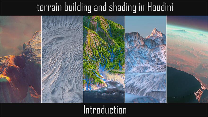 Rohan Dalvi - Terrain Building in Houdini