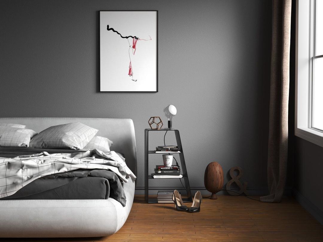 BeInspiration 92 3D model现代卧室模型
