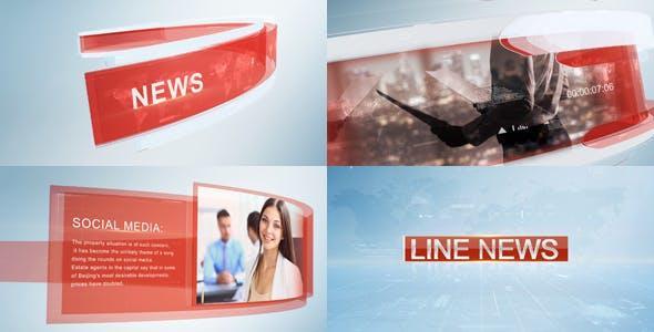 Videohive Line News 2 19261827
