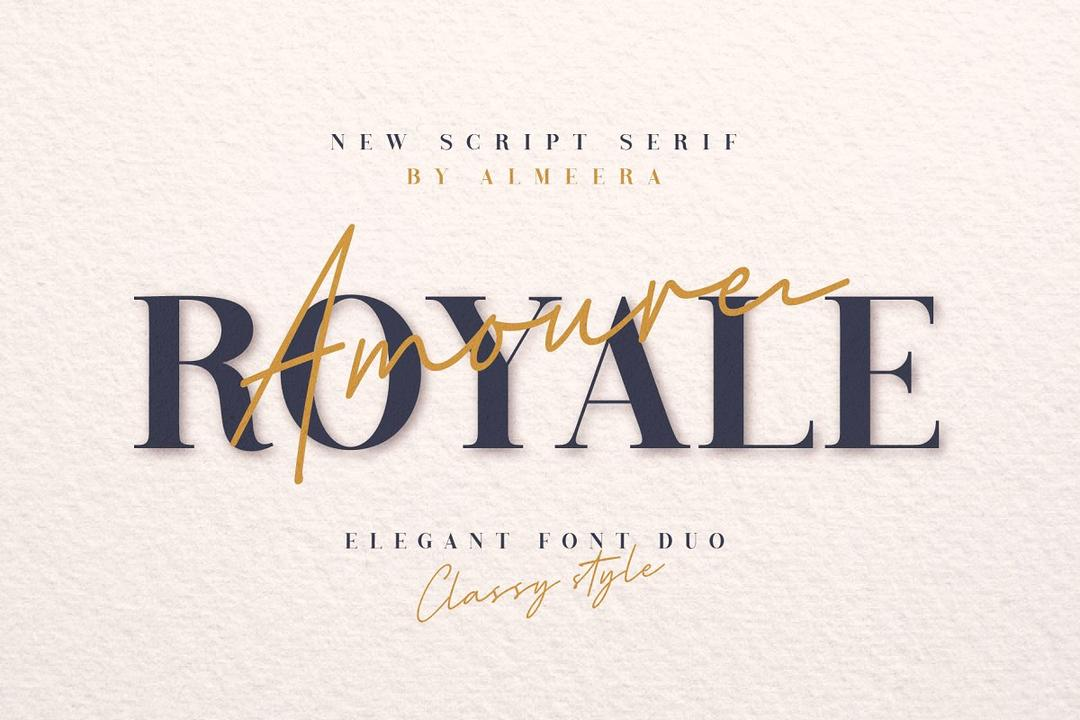 Royale Amoure Font Duo