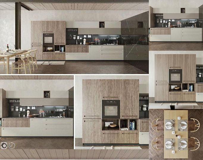 Modern Kitchen Mood Stosa现代厨房模型