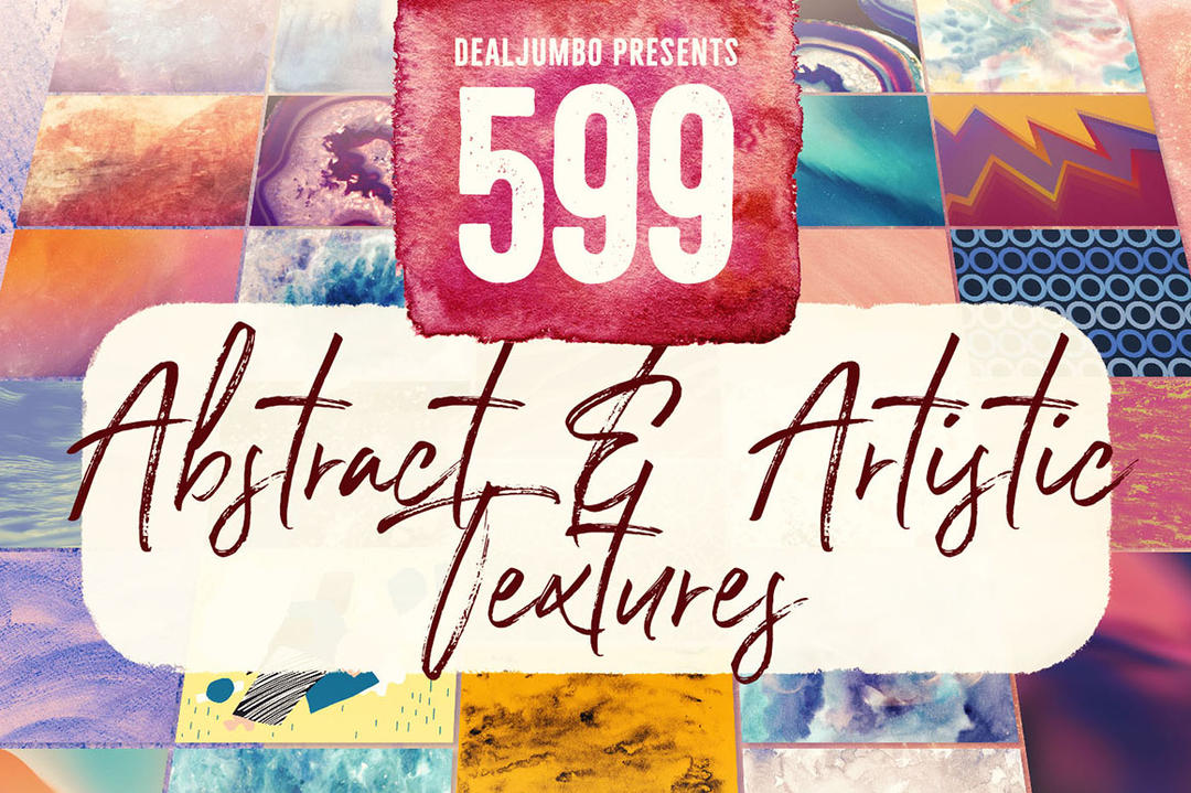 599 Abstract Artistic Textures