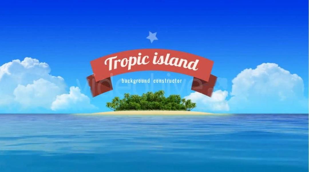 小岛游艇旅游宣传AE模板 VideoHive Yacht Sailing Island Travel Intro 4832040