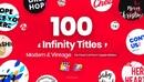 FCPX插件 101个现代流行复古怀旧创意文字标题排版设Videohive Infinity Titles for Final Cut Pro 24153177-缩略图