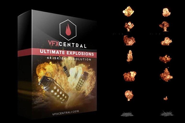 VfxCentral – ULTIMATE EXPLOSIONS (4K/5K/6K)爆破爆炸视频特效素材