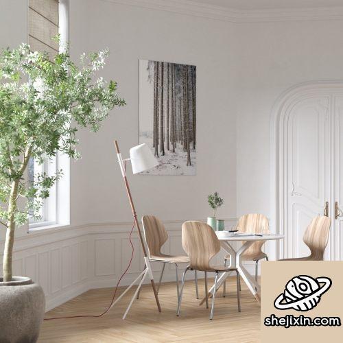 CGTrader – BeInspiration 95 3D models高端公寓室内模型