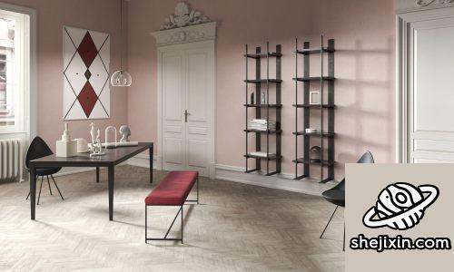 CGTrader – BeInspiration 87 3D models 高端公寓室内模型