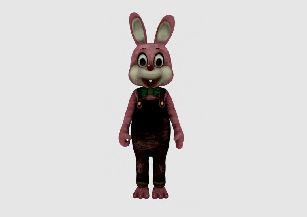 罗比兔Robbie Rabbit 3D模型