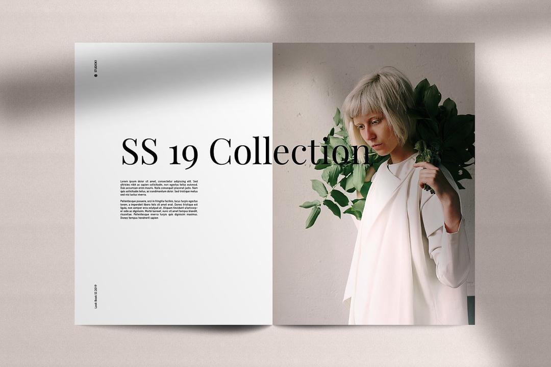 CM - LookBook Minimal Fashion Template 3048365 时尚宣传手册模板