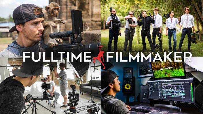 Full Time Filmmaker课程合集更新2020-9月Full Time Filmmaker Ultimate Online Film School