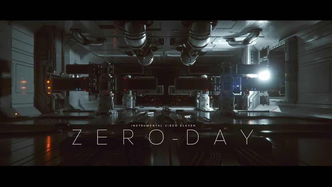 Octane渲染器C4D-ZERO-DAY零时差科幻场景机械工程模型_C4D模型_菜鸟C4D