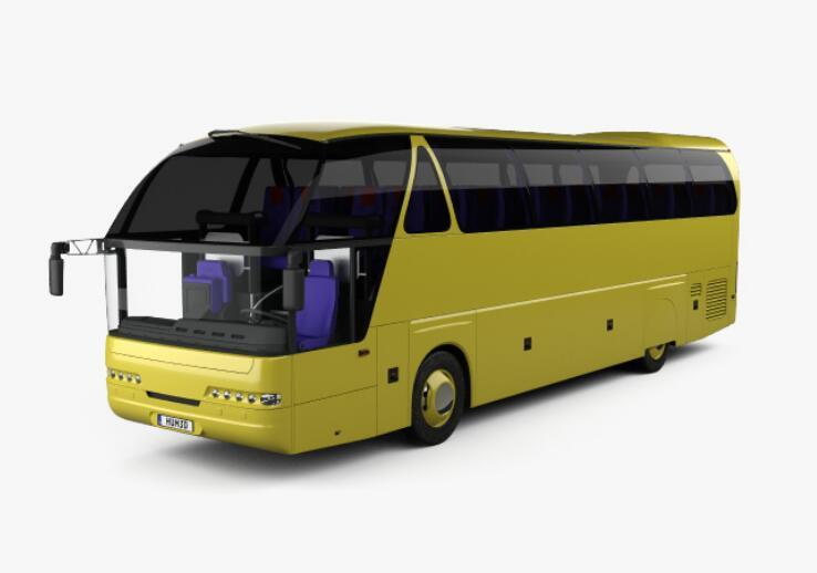 Neoplan Starliner N 516 SHD Bus with HQinterior 1995